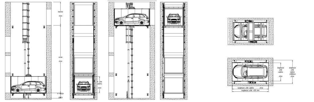 Montauto Personalizzati Ascensori Per Auto Rdt
