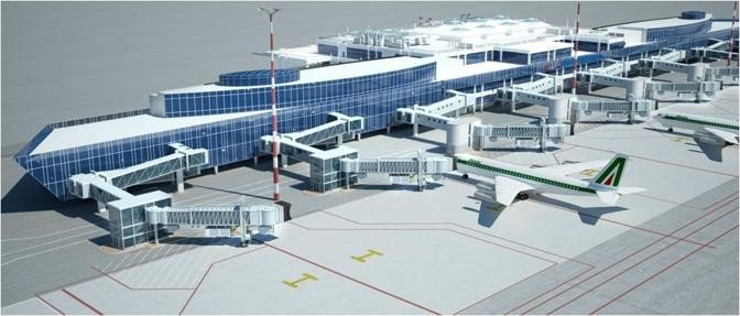 Nuova installazione Montacarichi all'aeroporto di Bari