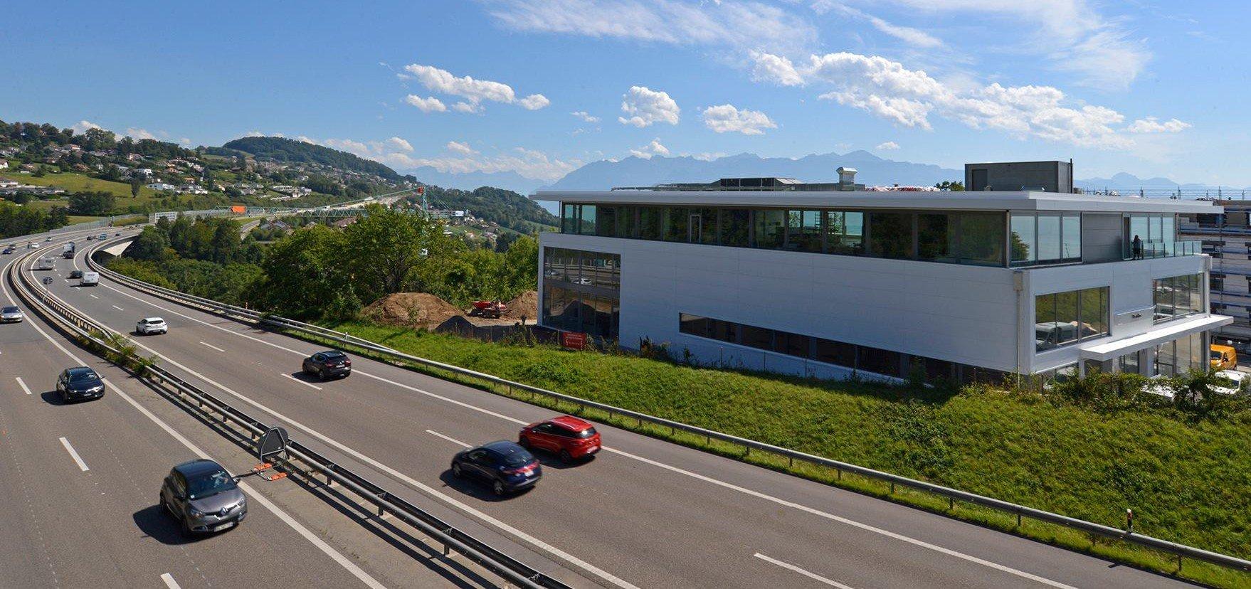 Inaugurazione Garage Zénith SA a Lutry