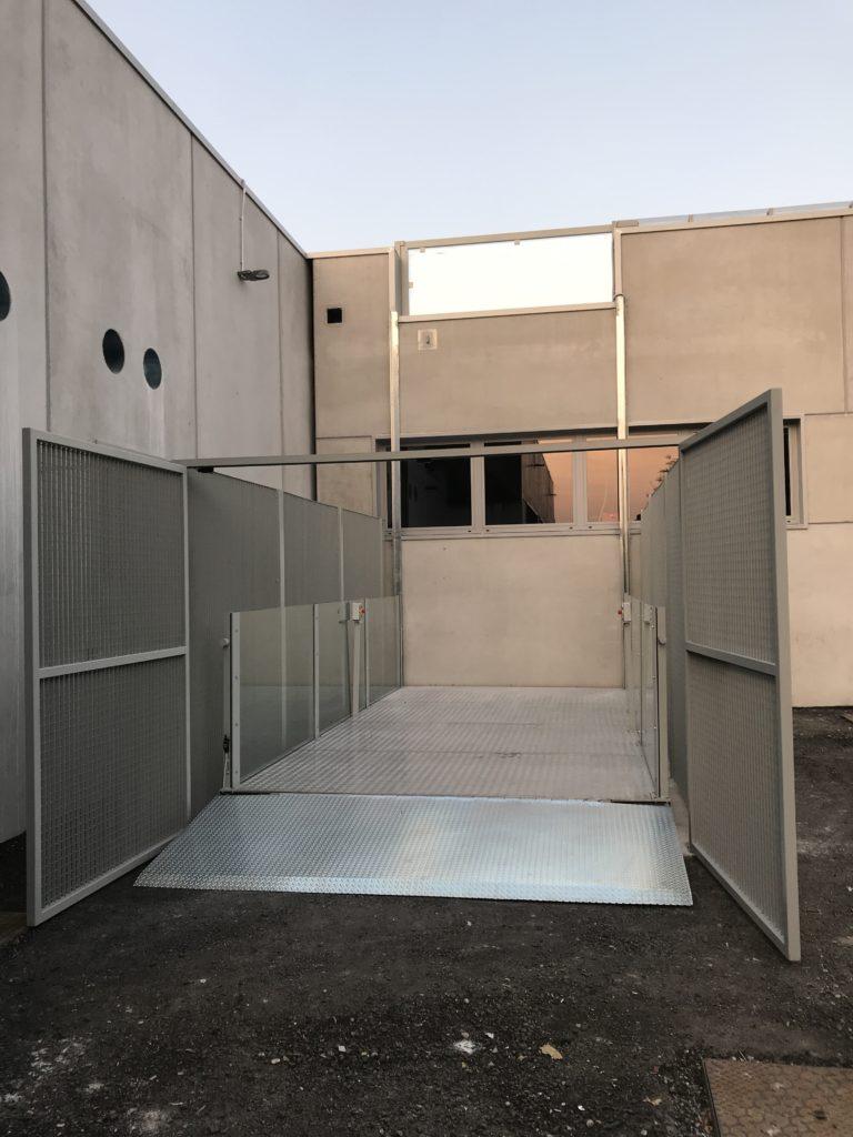 Nuova installazione Montauto a Treviso