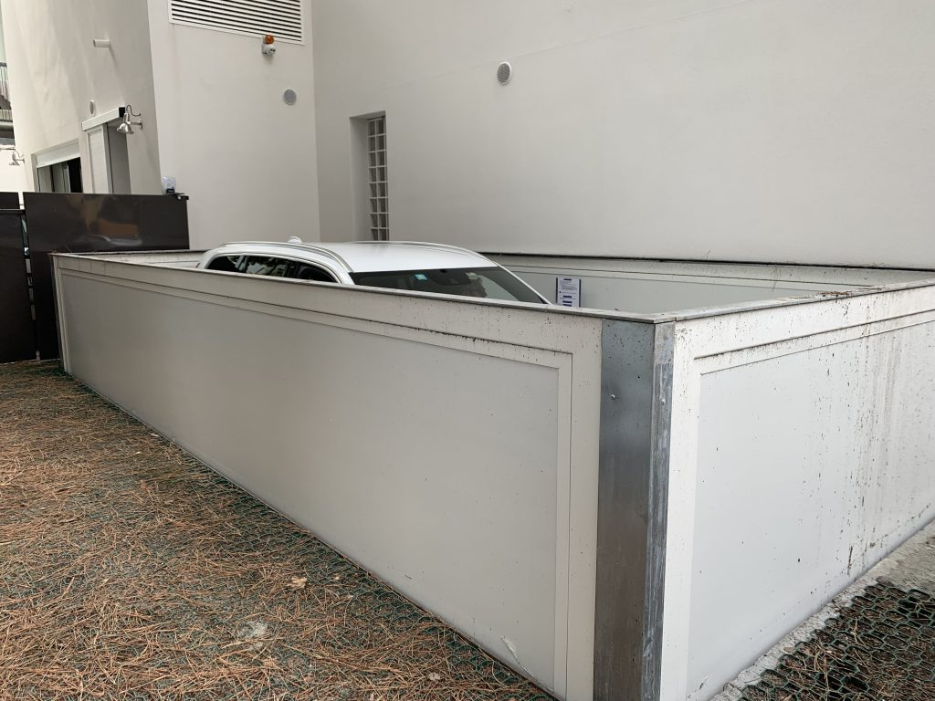 Nuova installazione Montauto a Riccione